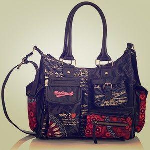 Handbags - Desigual Bolas Rojas Bag